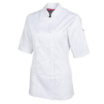 JBs Ladies S/S Vented Chefs Jacket (5CVS1-06-24_JBS)