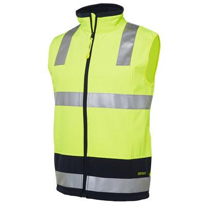 JBs Hi Vis (D+N) Softshell Vest (6D4LK-XS-5XL_JBS)