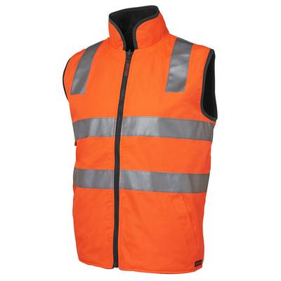 JBs Hi Vis (D+N) Reversible Vest (6D4RV-S-5XL_JBS)