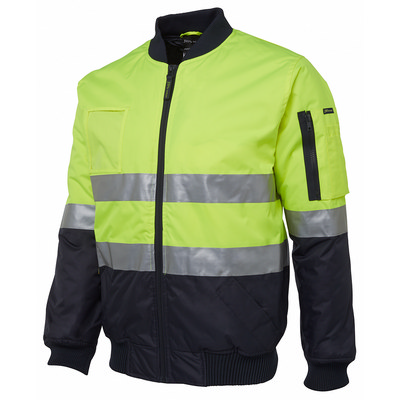 JBs Hi Vis (D+N) Flying Jacket (6DNFJ-S-6/7XL_JBS)