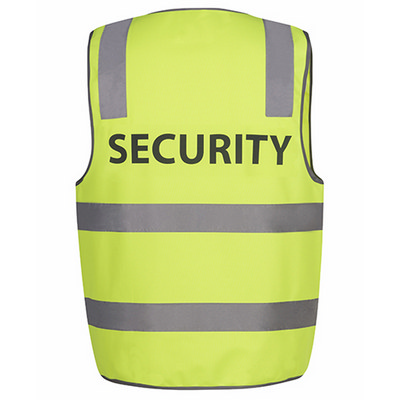 JBs Hv (D+N) Safety Vest Security (6DNS5-S-5XL_JBS)