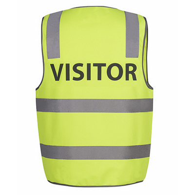 JBs Hv (D+N) Safety Vest Visitor (6DNS7-S-5XL_JBS)