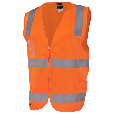 JBs Hv (D+N) Zip Safety Vest  (6DNSZ_JBS)