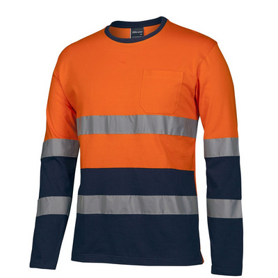 JBs Hv (D+N) L/S Crew Neck Cotton T-Shirt  (6DNTN_JBS)