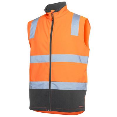 JBs Hi Vis D+N Water Resistant Softshell Vest (6DWV-XS-5XL_JBS)