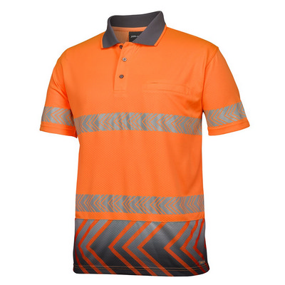 JBs S/S Arrow Sub Polo With Segmented Tape (6HAS-XS-5XL_JBS)