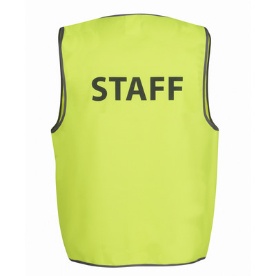 JBs Hv Safety Vest Print Staff  (6HVS6_JBS)