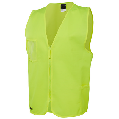 JBs Hi Vis Zip Safety Vest  (6HVSZ-S-6/7XL_JBS)