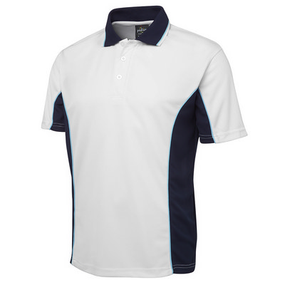 Podium Double Contrast Poly Polo (7PP-D_JBS)