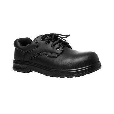 JB`S MICROFIBRE LACE UP STEELTOE SHOE  (9C4_JBS)