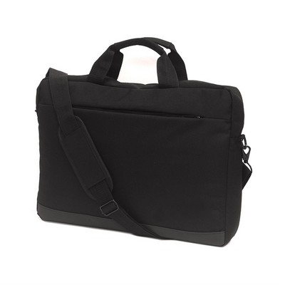 Collective Laptop Satchel Black (8801_TVG)