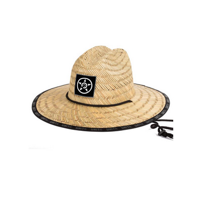 MENS HEADWEAR - HAT (STRAW)