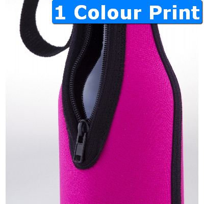 Flat Wine Bottle Cooler Single