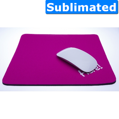 Neoprene mouse mat large 260 x 220 - Sublimation - (printed with 1 colour(s)) 551_SUB_ABA