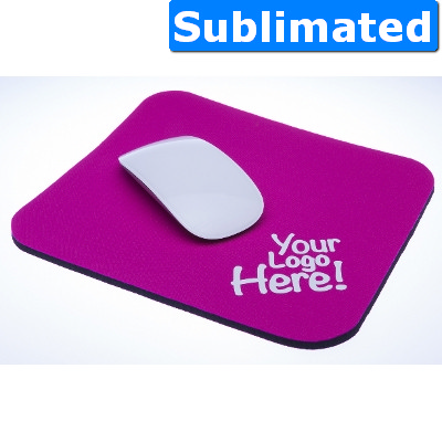 Neoprene mouse mat small 220 x 190 - Sublimation - (printed with 1 colour(s)) 554_SUB_ABA
