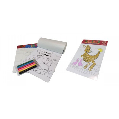 A5 colouring in magnet (Colour your own Magnet) bag with pencil