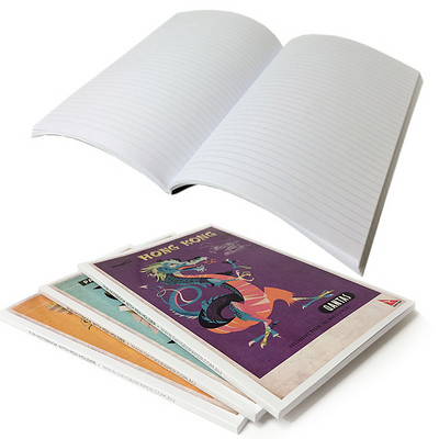A5 50 L Books PUR generic lined