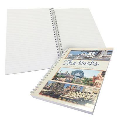 A4 Wiro 50 L4v + generic lined pages