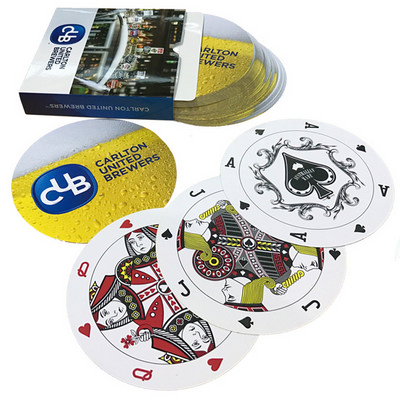 Playing cards digital 95mm diameter (PLAYINGCARDSD2_OXY)