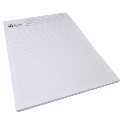 A4 Writing Pad 1c 10 L