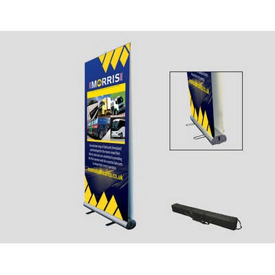 Double Sided Roll up Banner Stand 850x2020mm
