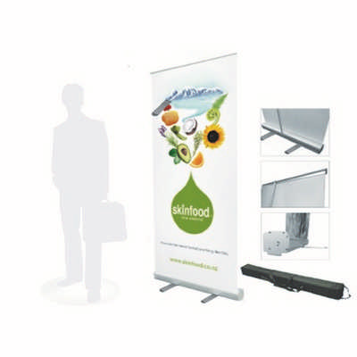 Economy Roll up Banner Stand 600x1600mm