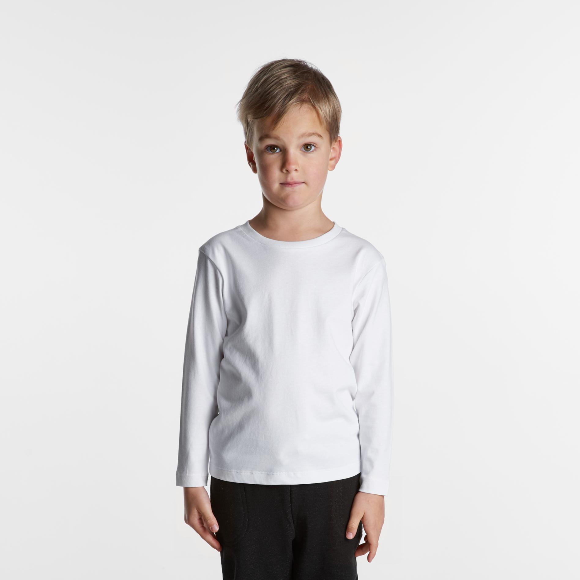 AS Colour Kids Long Sleeve Tee