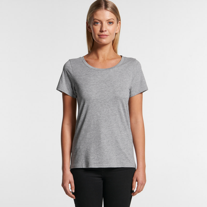AS Colour Shallow Scoop Tee