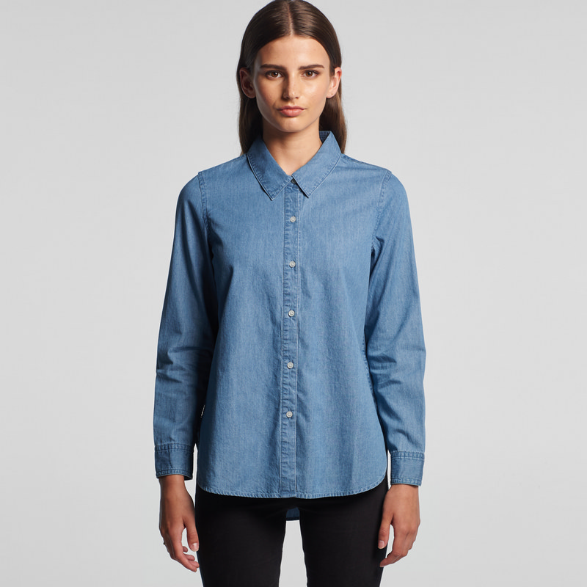 AS Colour Blue Denim Shirt