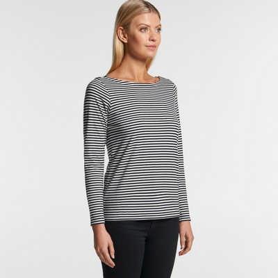 AS Colour Womens Bowery Stripe LS