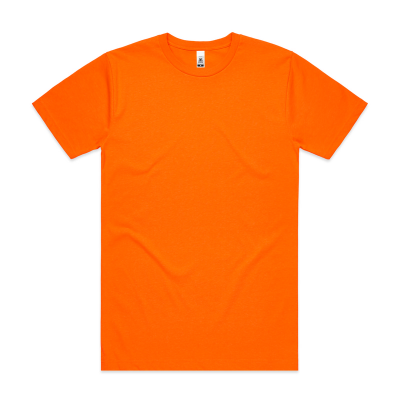 Block Tee - Safety colours