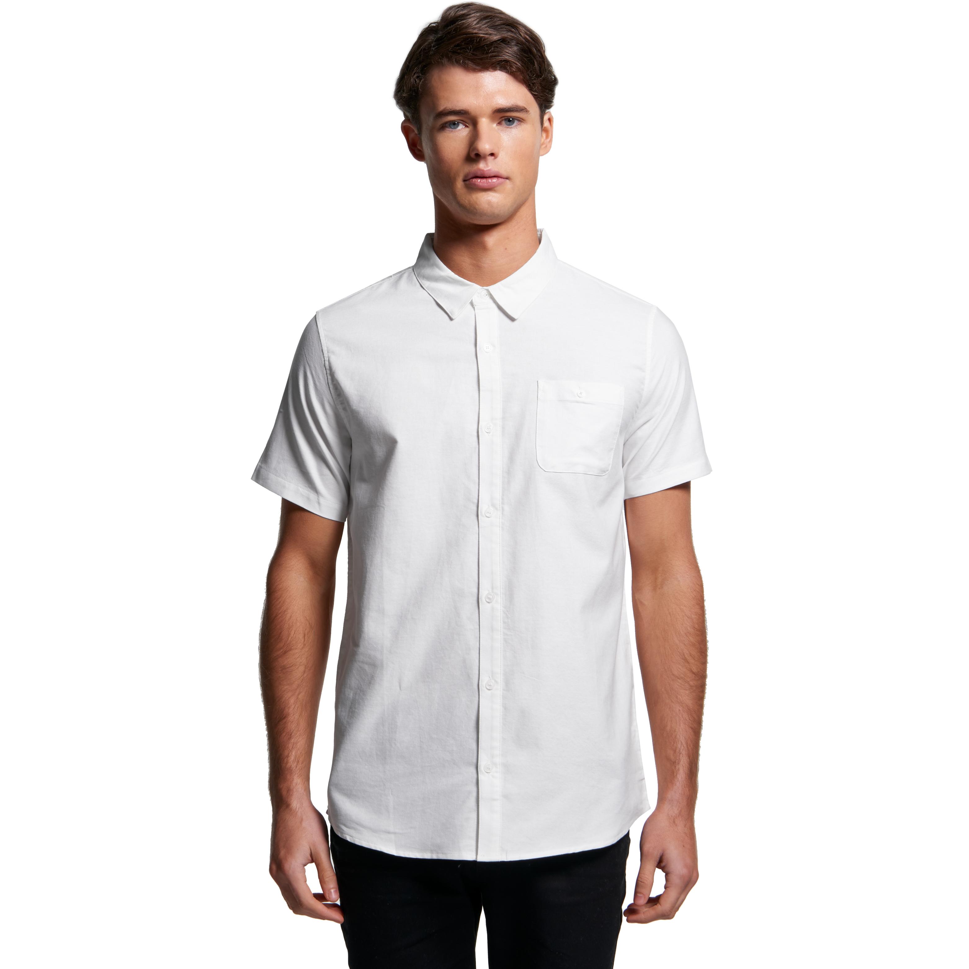 AS Colour Oxford Short Sleeve Shirt