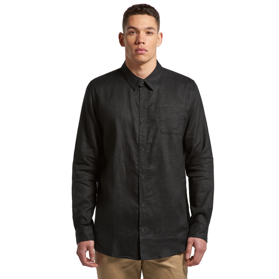 AS Colour Linen Long Sleeve Shirt