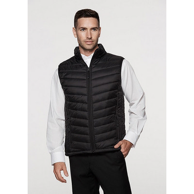 Mens Snowy Puffer Vest