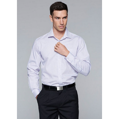 Aussie Pacific Mens Henley Striped Long Sleeve Shirt