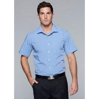 Aussie Pacific Mens Toorak Check Short Sleeve Shirt