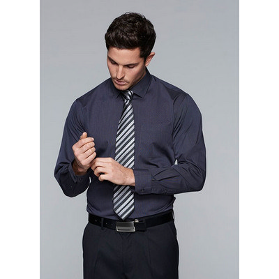 Aussie Pacific Mens Grange MiTong Check Long Sleeve Shirt