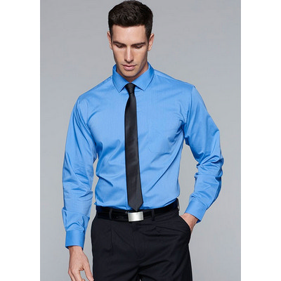 Aussie Pacific Mens Mosman Stretch Long Sleeve Shirt