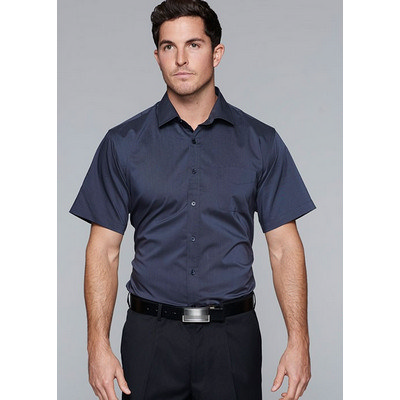 Aussie Pacific Mens Mosman Stretch Short Sleeve Shirt