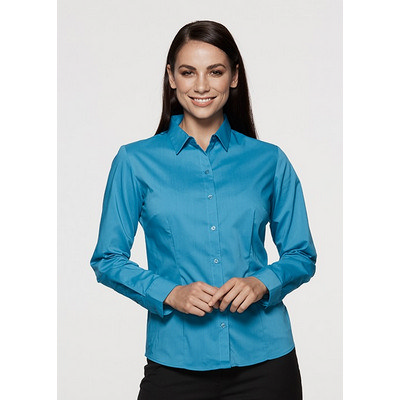 Aussie Pacific Ladies Mosman Stretch Long Sleeve Shirt