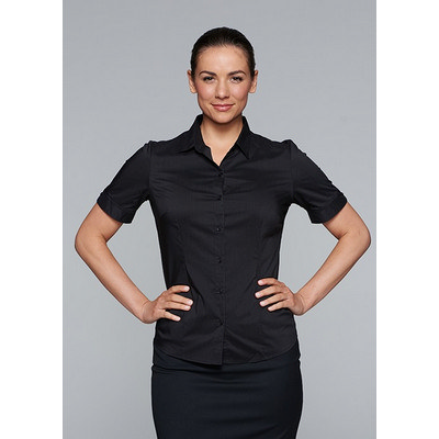 Aussie Pacific Ladies Mosman Stretch Short Sleeve Shirt