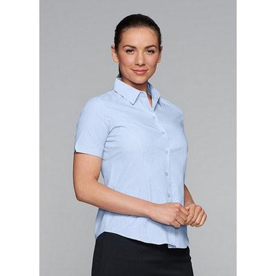 Ladies Belair Stripe Short Sleeve Shirt