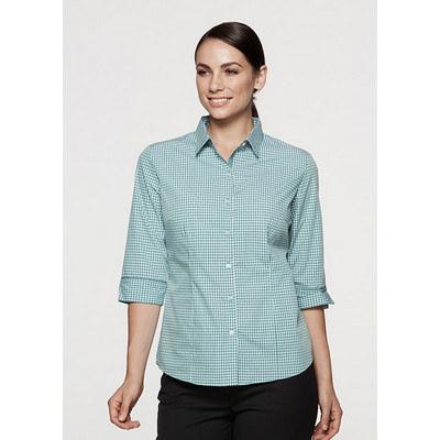Aussie Pacific Ladies Epsom 3/4 Sleeve Shirt