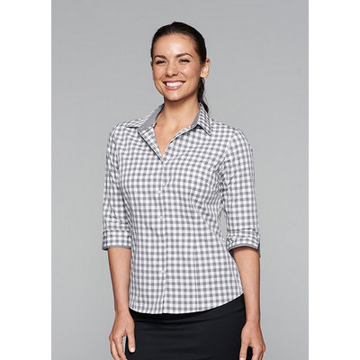Ladies Devonport 3/4 Sleeve Shirt