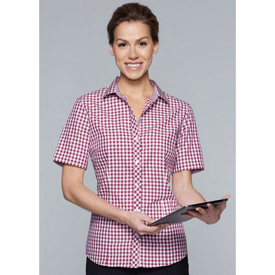 Ladies Brighton Short Sleeve Shirt