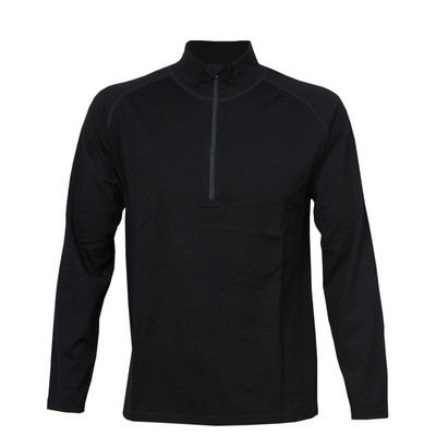 Mens Alpine Merino 12 Zip Top