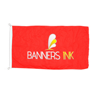 110 Gsm Polyester Flag - 1800 Mm X 900mm - (printed with 4 colour(s)) 110_Flag_R_BI