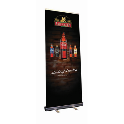 Lt Weight Pull Up Banner 1200mmx2200mm - (printed with 4 colour(s)) LWPUB_1200_BI