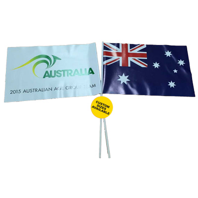 Pvc Hand Wave Flag - (printed with 4 colour(s)) PVC_HWF_BI