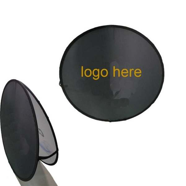 Round Pop Up Banner 1400mm Diameter - (printed with 4 colour(s)) POP_R_MA_BI
